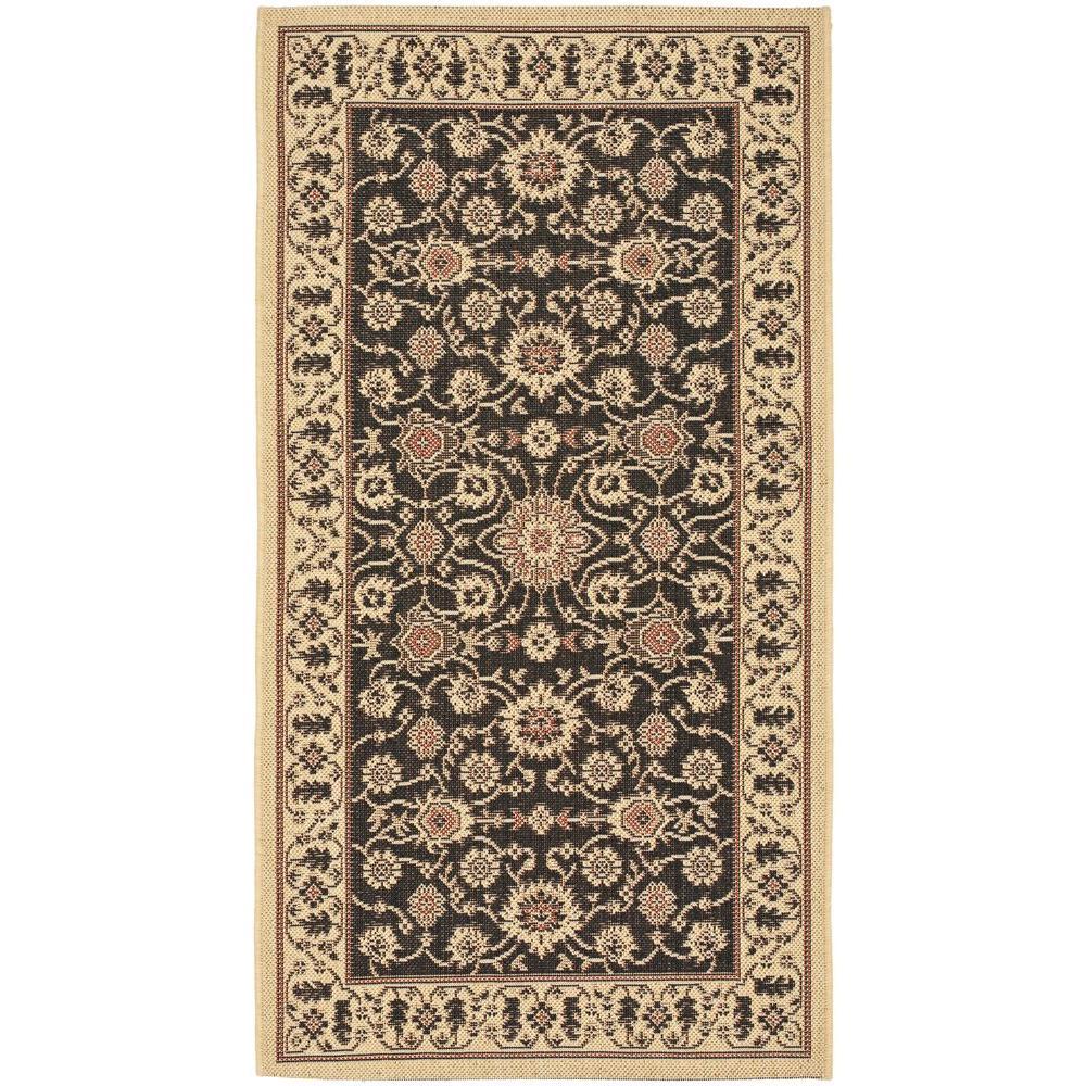 safavieh courtyard black 2 ft 7 in x 5 ft indoor outdoor area rug cy6126 26 3 the