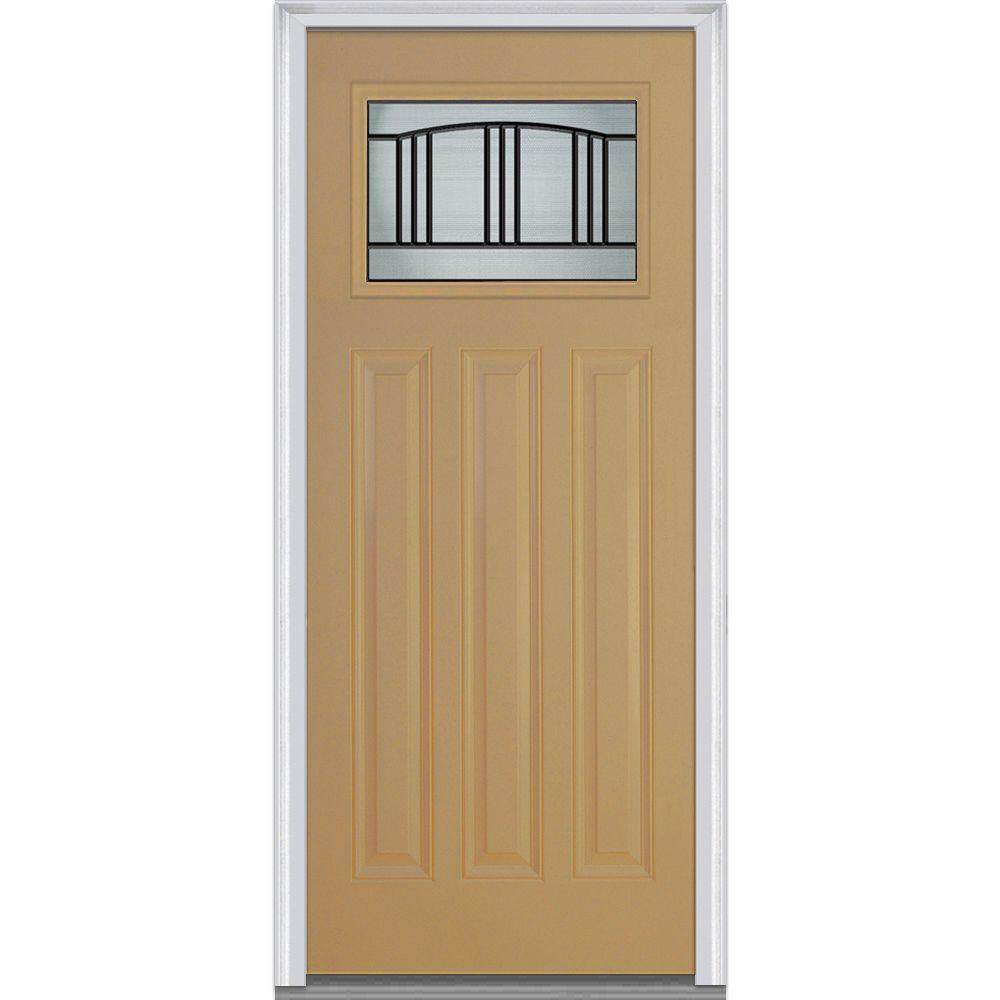 MMI Door 36 in. x 80 in. Madison Right-Hand Inswing Craftsman 1  sc 1 st  Home Depot & MMI Door 36 in. x 80 in. Madison Right-Hand Inswing Craftsman 1/4 ...