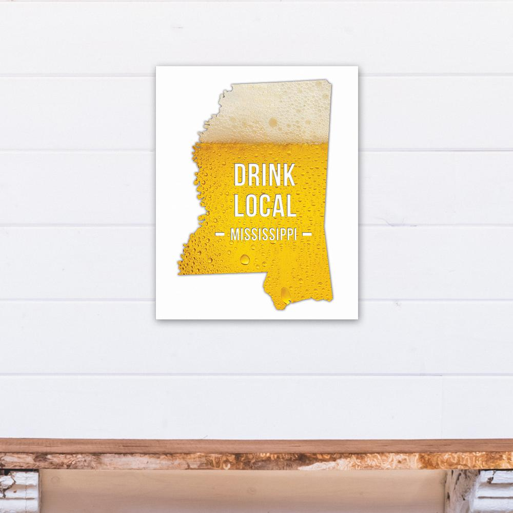 Designs direct 16 in x 20 in alabama drink local beer for Direct from the designers