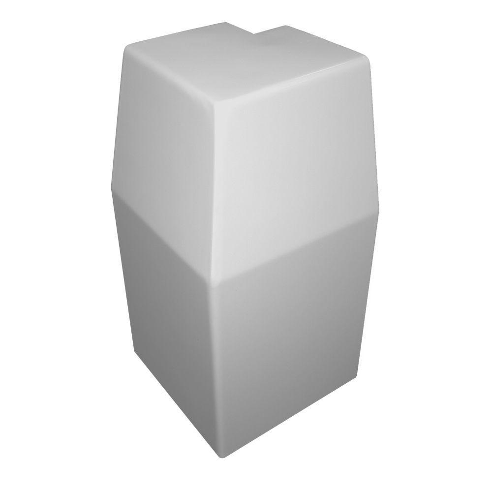 premium series steel easy slipon baseboard heater cover outside 90degree