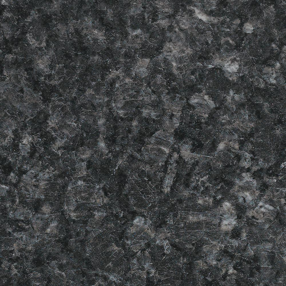 FORMICA 5 in. x 7 in. Laminate Countertop Sample in Midnight Stone on
