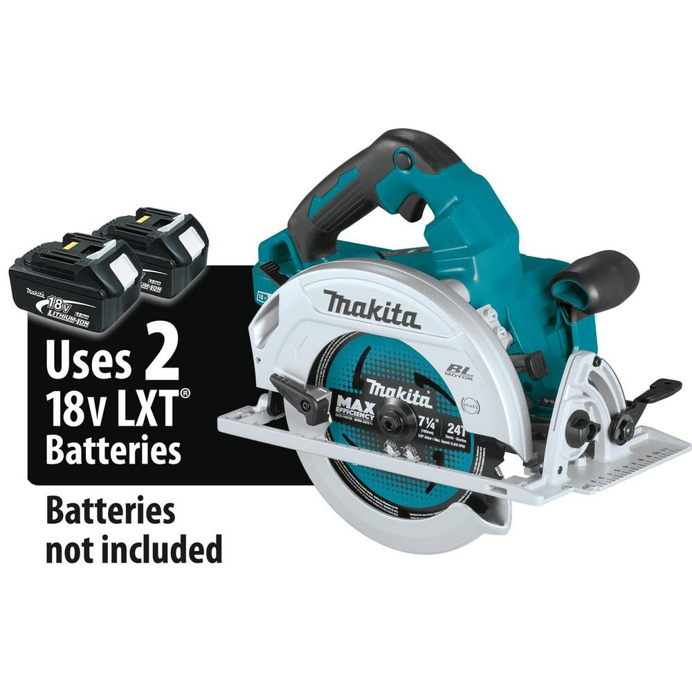 Makita 18-Volt X2 LXT Lithium-Ion 36-Volt Brushless Cordless 7-1/4 in. Circular Saw AWS Capable Tool-Only