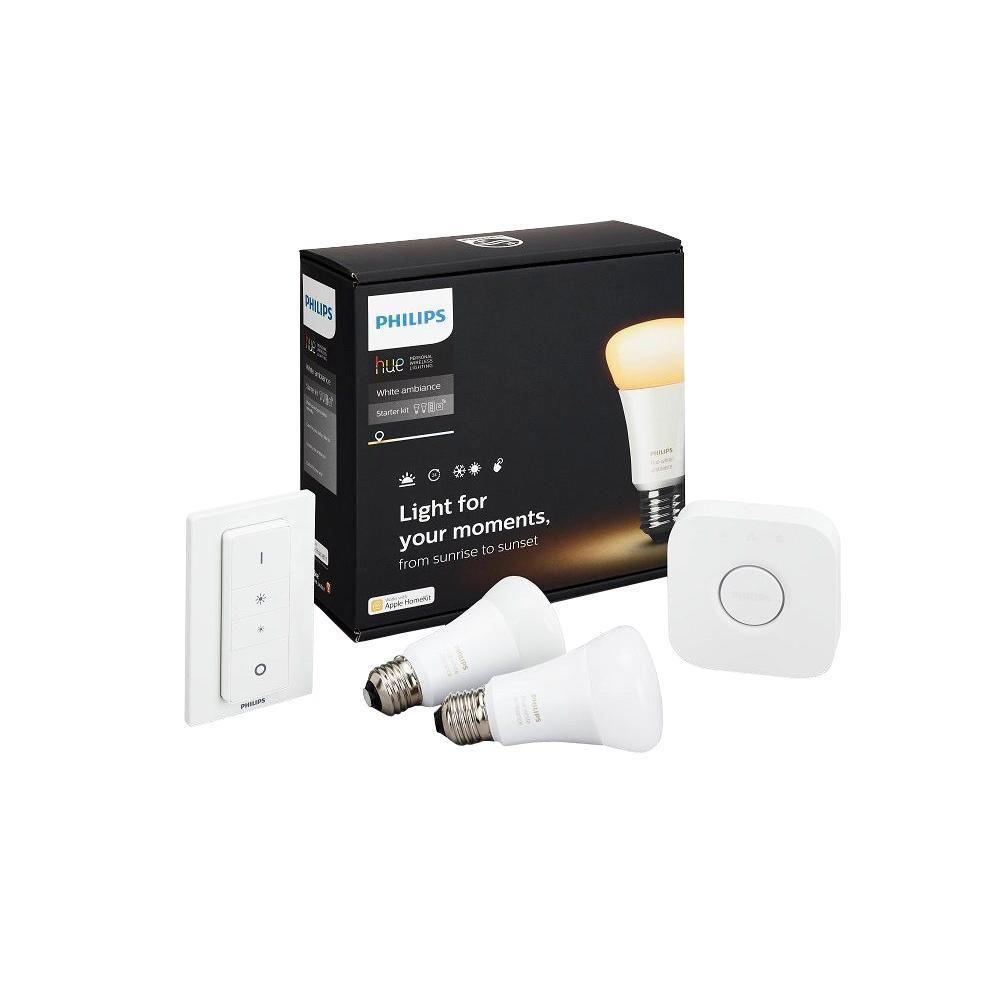 Hue White Ambiance Starter Smart Kit