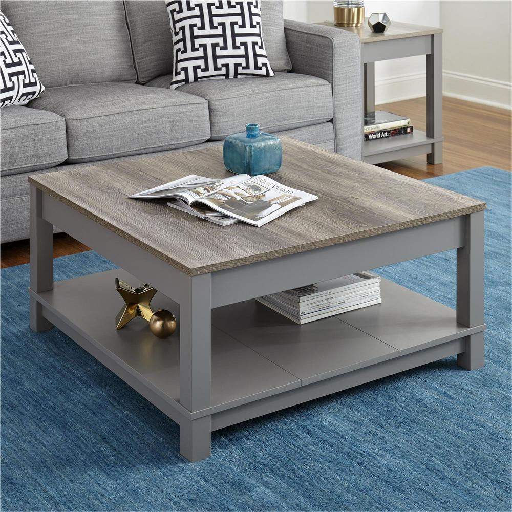 Carver Gray/Sonoma Oak Coffee Table