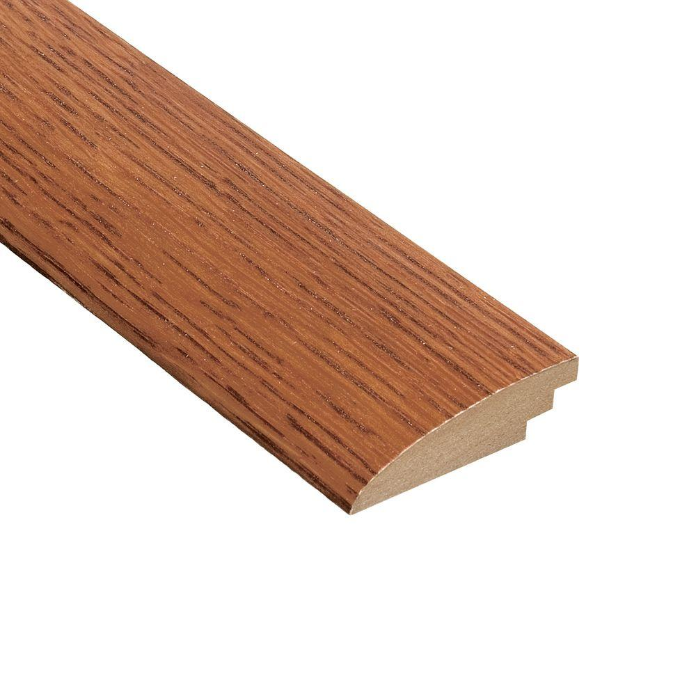 Home Legend Oak Gunstock 5/8 in. Thick x 2 in. Wide x 78 in. Length Hardwood Hard Surface Reducer Molding