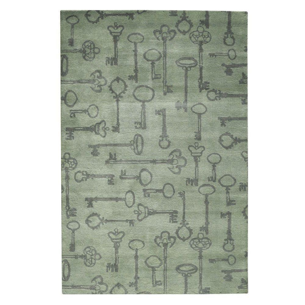 Home Decorators Collection Lock Dusty 8 ft. x 11 ft. Area Rug