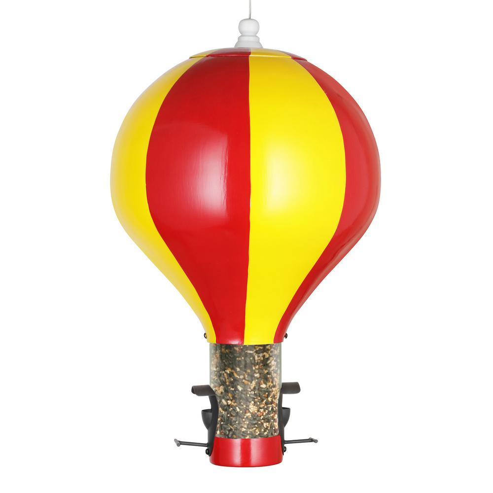 Hot Air Balloon Extra-Large Bird Feeder, 6 lbs. Seed Capacity