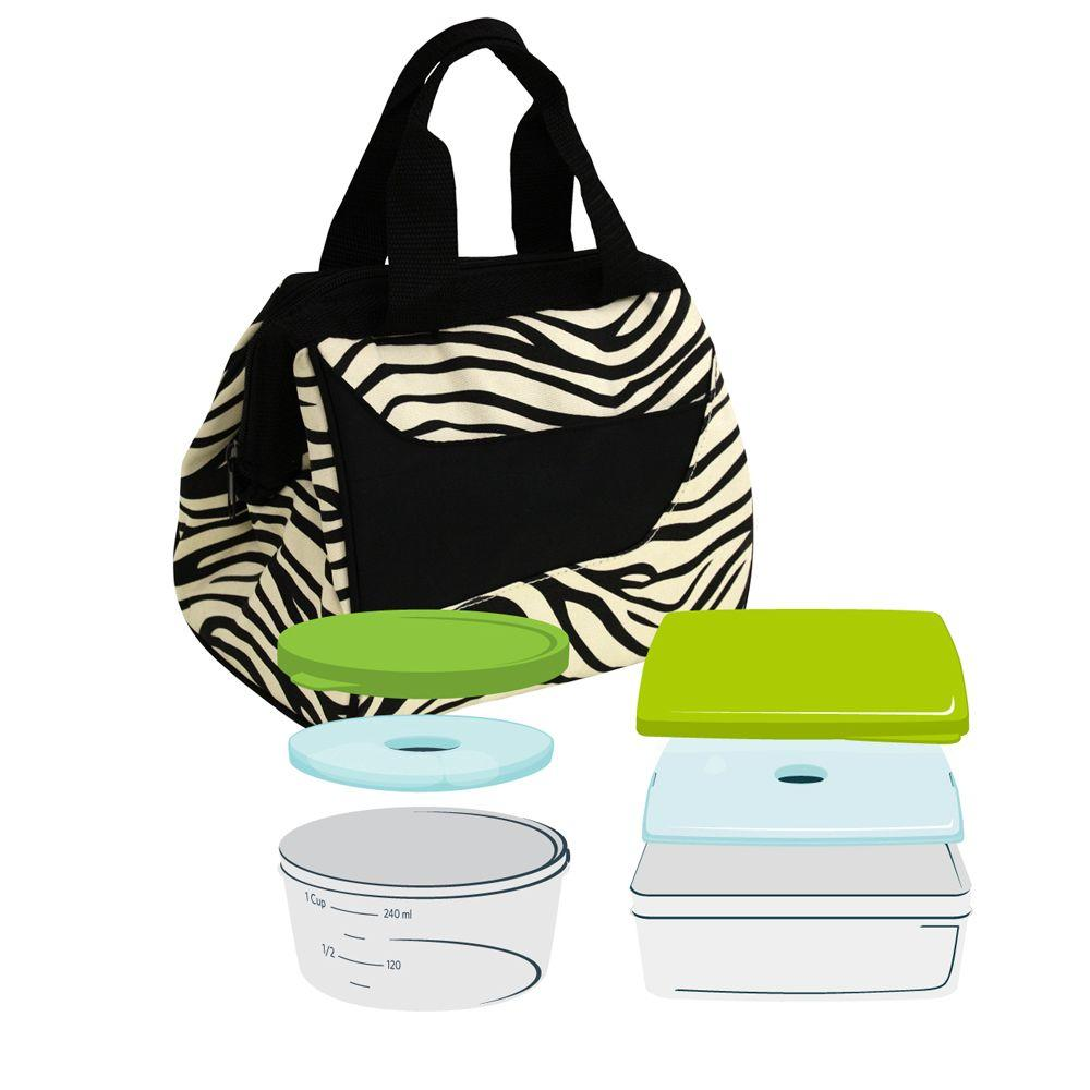 Fit & Fresh Downtown Insulated Designer Lunch Bag-DISCONTINUED