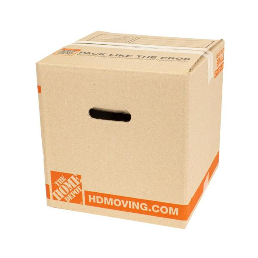 12 in. L x 12 in. W x 12 in. D Heavy-Duty Moving Box (10-Pack)
