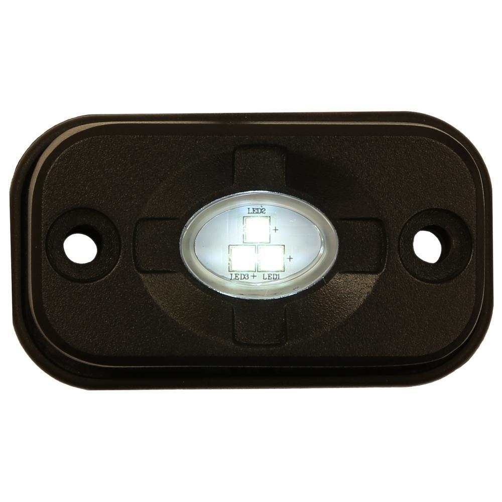 3 in. Rectangular LED Clear Flood Light