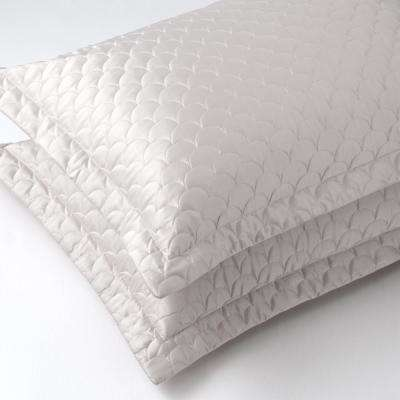 Soft Pewter Queen Quilted Pillow Sham