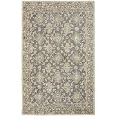 Wylie Grey 3 ft. 9 in. x 5 ft. 9 in. Accent Rug