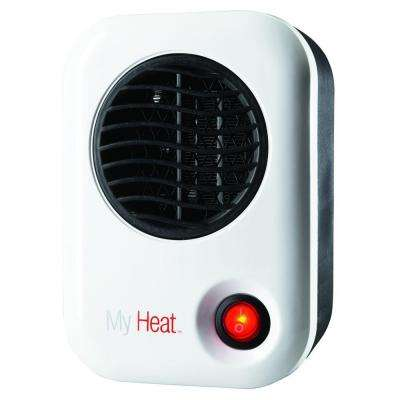 My Heat 200-Watt Personal Ceramic Portable Heater - White
