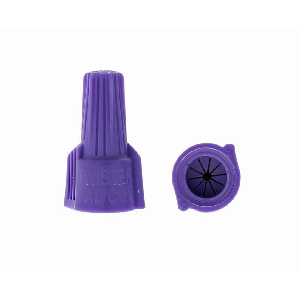 Ideal Twister Al/Cu Wire Connectors, 65 - Purple (2 Per Bag ...