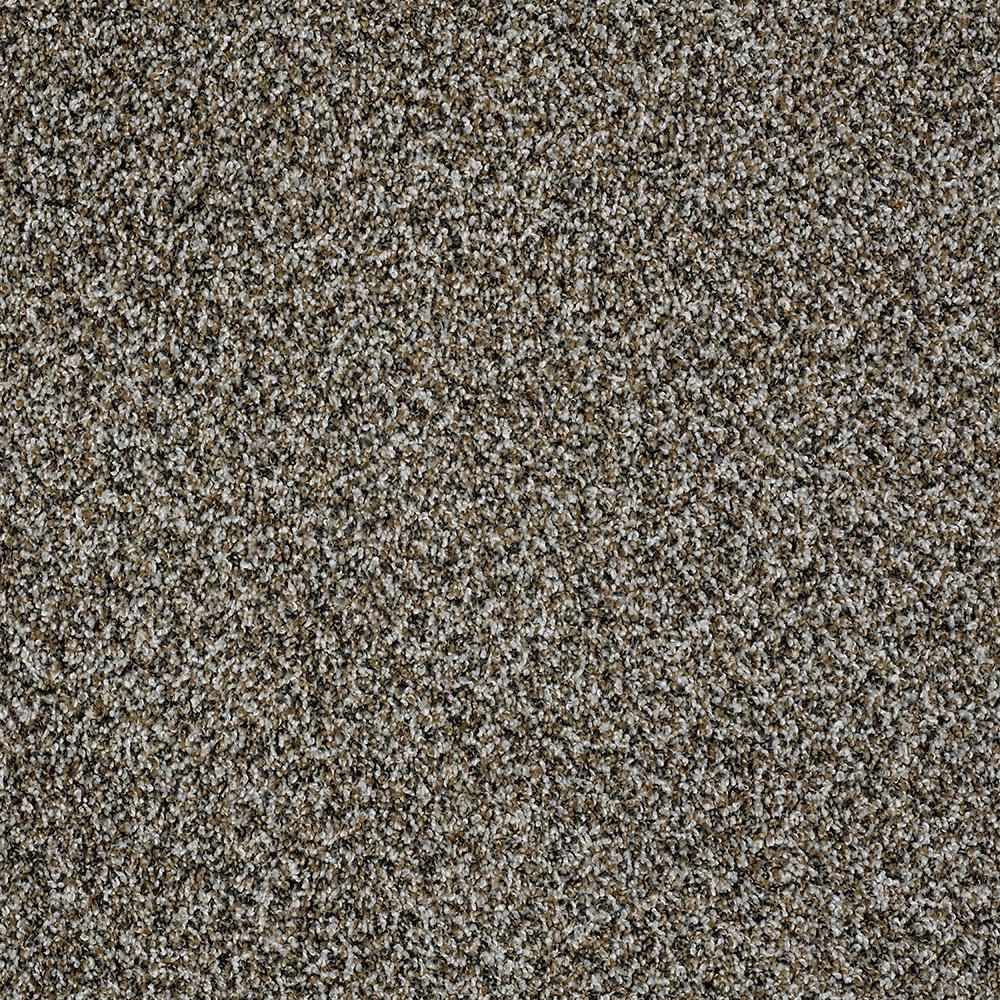 Bonanza II - Color Earthy Gray Twist 15 ft. Carpet