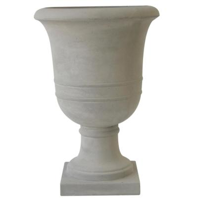 16 in. Norwich Antique Zinc Resin Urn Planter