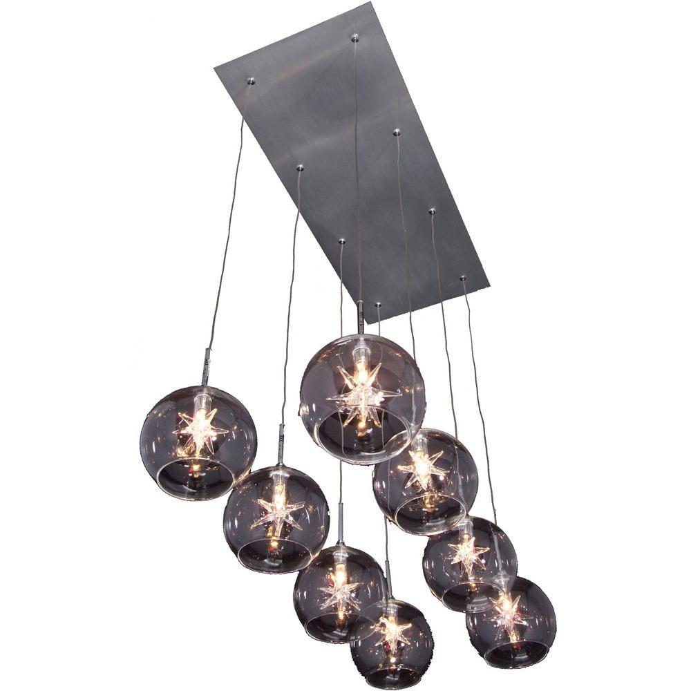 Starburst 8-Light Pendant