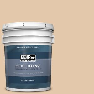 Behr Ultra 5 Gal Mq2 45 Craft Juggler Extra Durable Satin Enamel Interior Paint And Primer In One 775405 The Home Depot