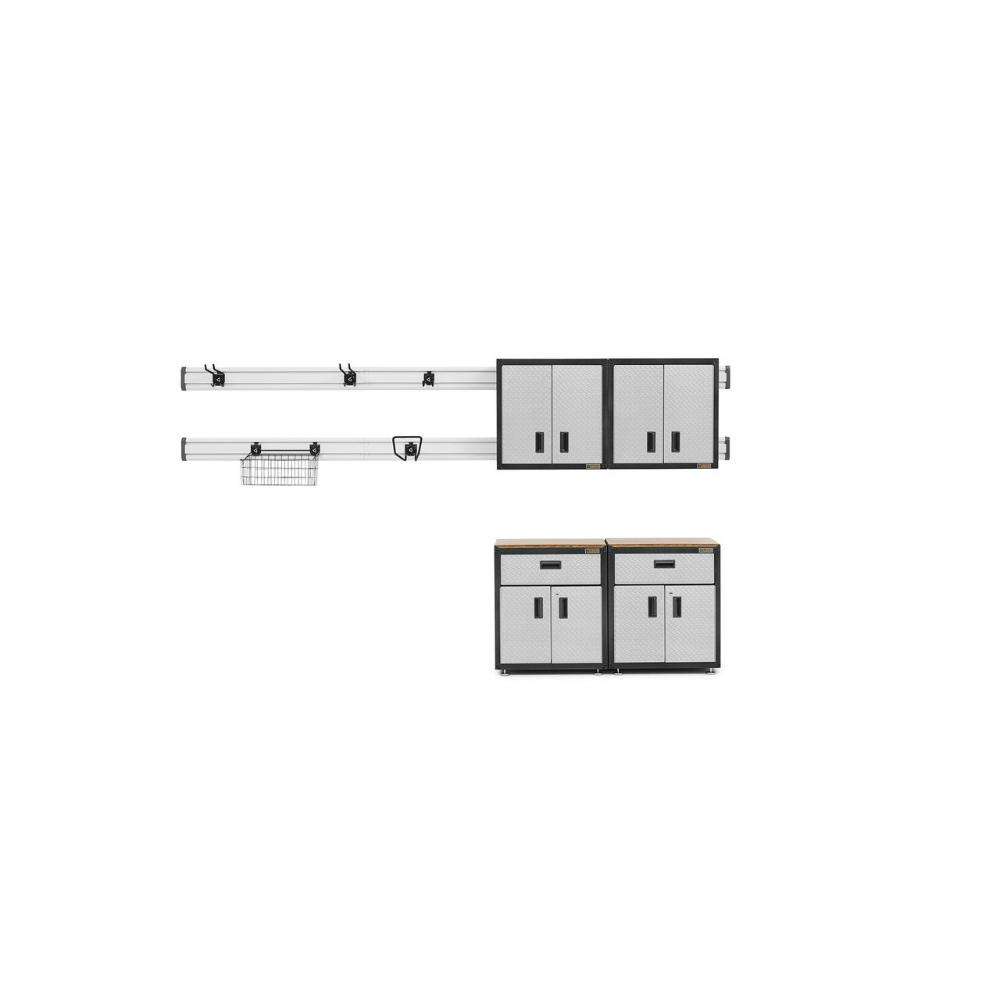 GLADIATOR Ready-to-Assemble 72 in. H x 56 in. W x 18 in. ...