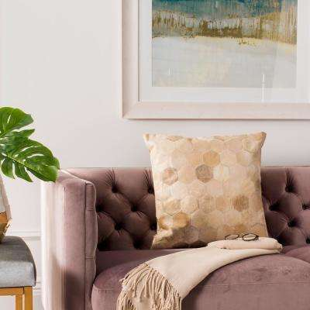 Parker Cowhide Standard Pillow