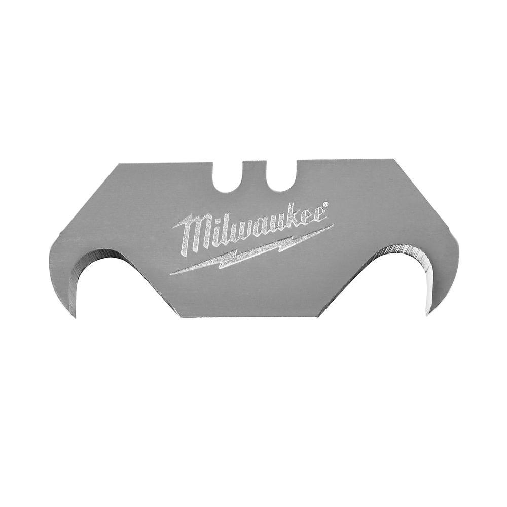 Milwaukee Hook Utility Knife Blades With Dispenser 50