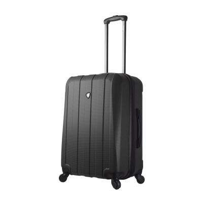 Tosetti 24 in. Black Hard Side Spinner Suitcase