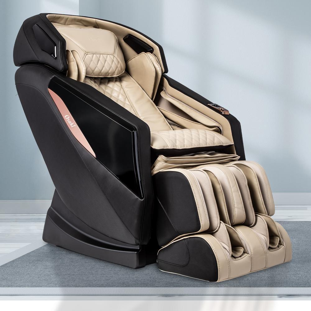 OSAKI OS-PRO Yamato Faux Leather Reclining Massage Chair