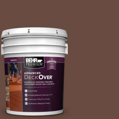5 gal. #SC-117 Russet Smooth Solid Color Exterior Wood and Concrete Coating