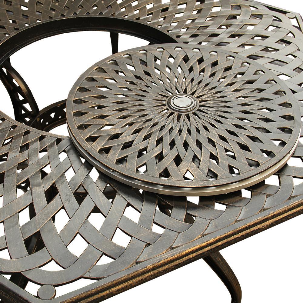 Hexagon Aluminum Outdoor Dining Table