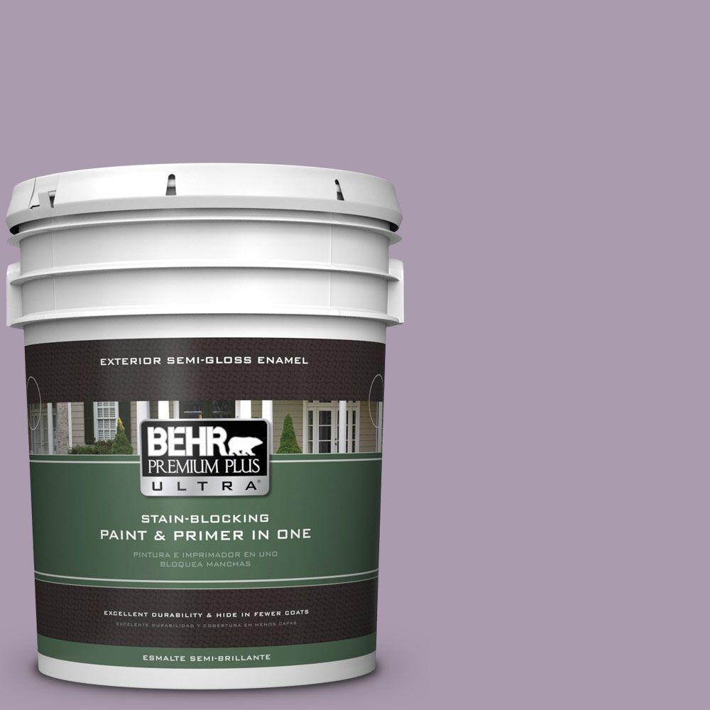 5-gal. #PPU16-12 Charm Semi-Gloss Enamel Exterior Paint
