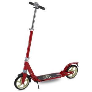 Scooride Jiffi J-40 Premium Folding Adult Kick Scooter in Red by Scooride