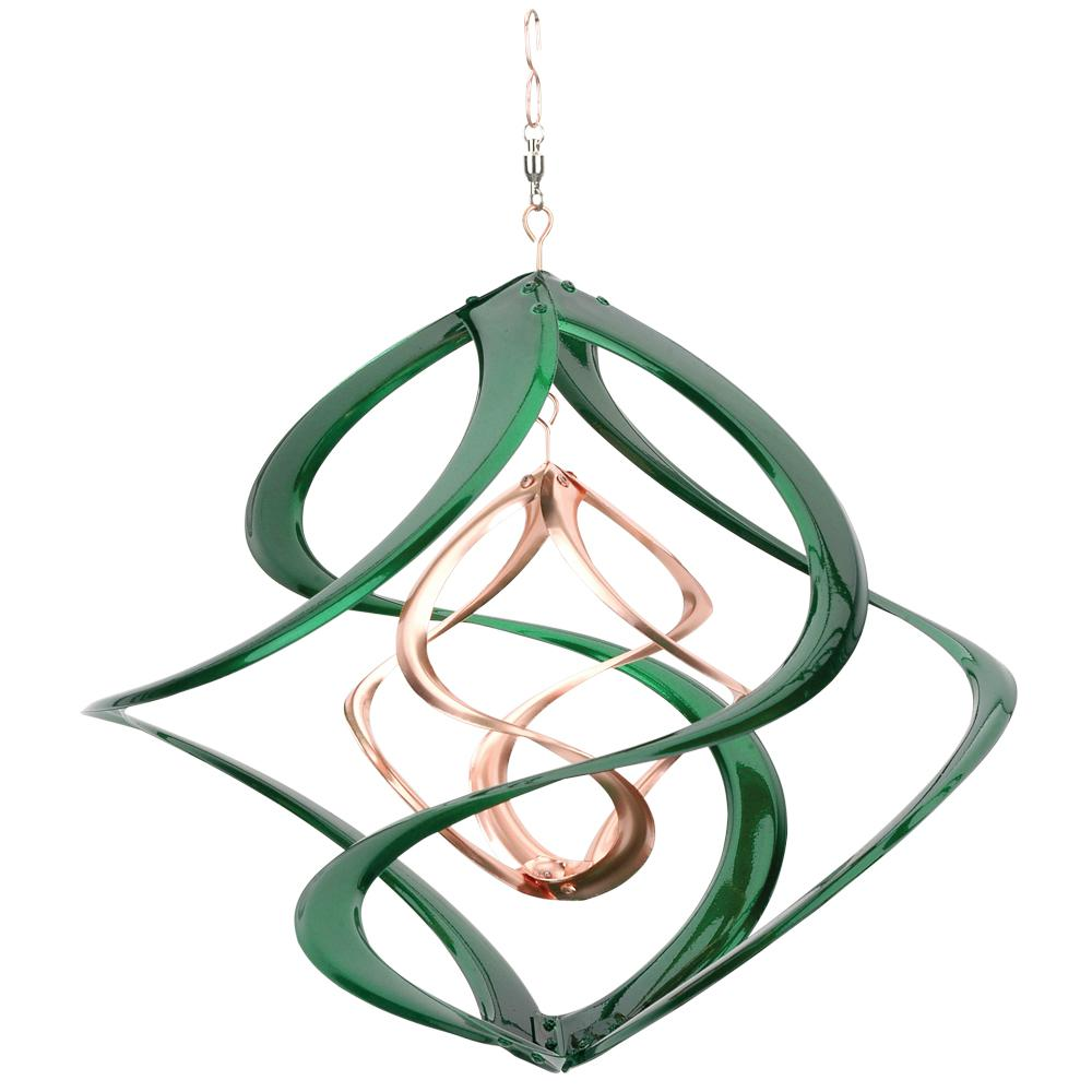 Spinner 14 In Cosmix Green Copper 31094 The Home Depot