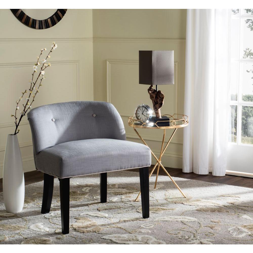 Safavieh Bell Grey/Taupe Vanity Chair MCR4203B