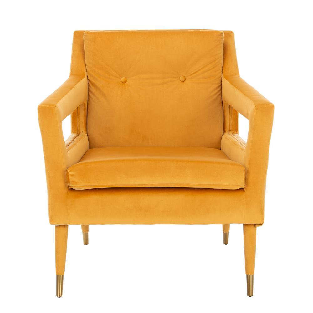 Mara Marigold Accent Chair