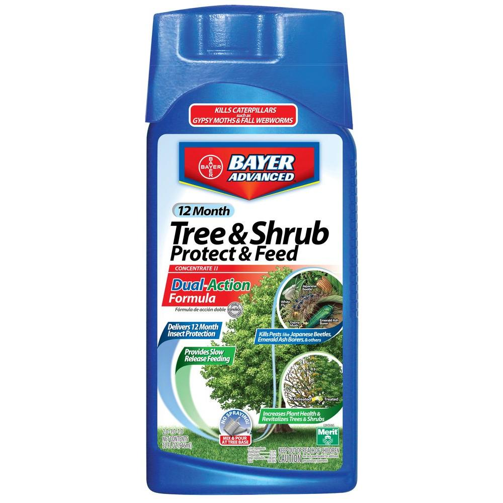 Tree borers amp bark beetles arborx tree health care - Concentrate Tree And Shrub Protect With Feed 701810a The Home Depot