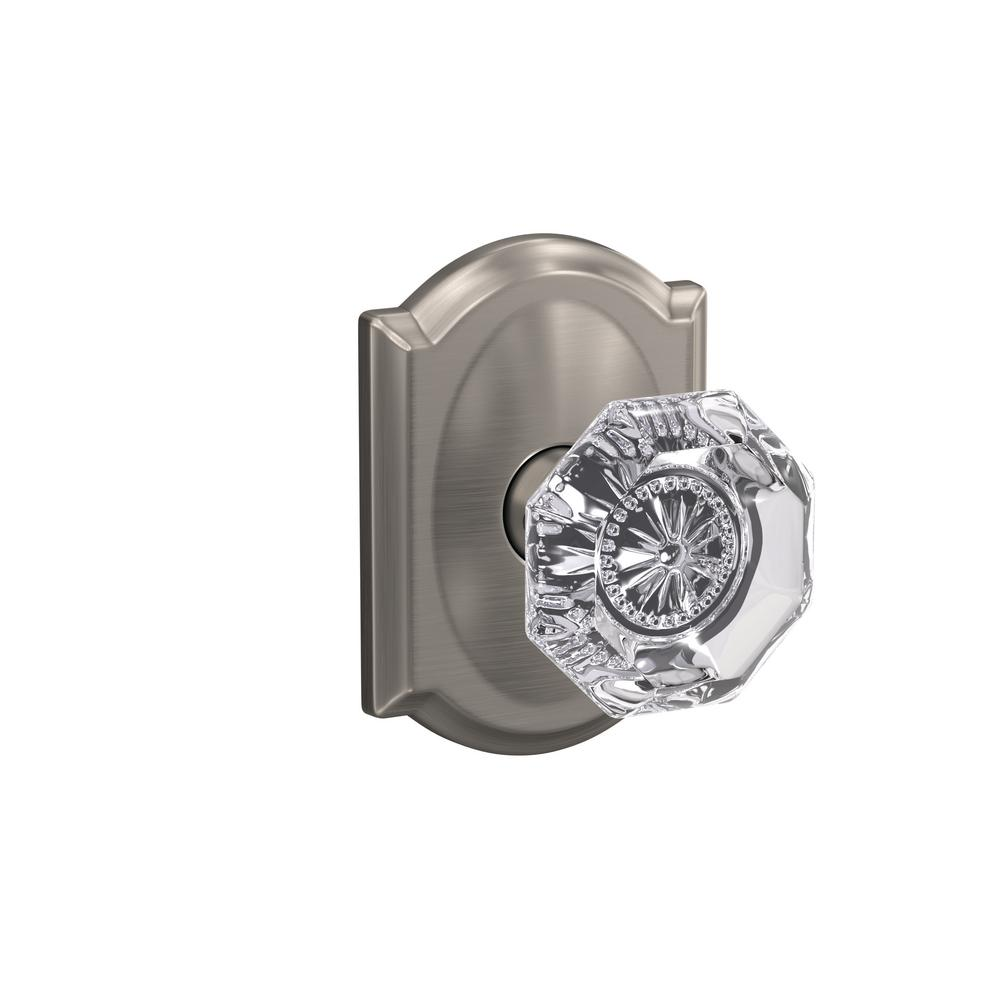 Schlage Custom Alexandria Satin Nickel Camelot Trim