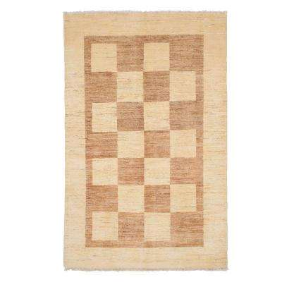Modern Multi 4 ft. 1 in. x 6 ft. 3 in. Indoor Area Rug