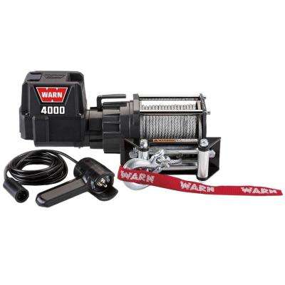 4000 DC Trailer Loading Utility Winch