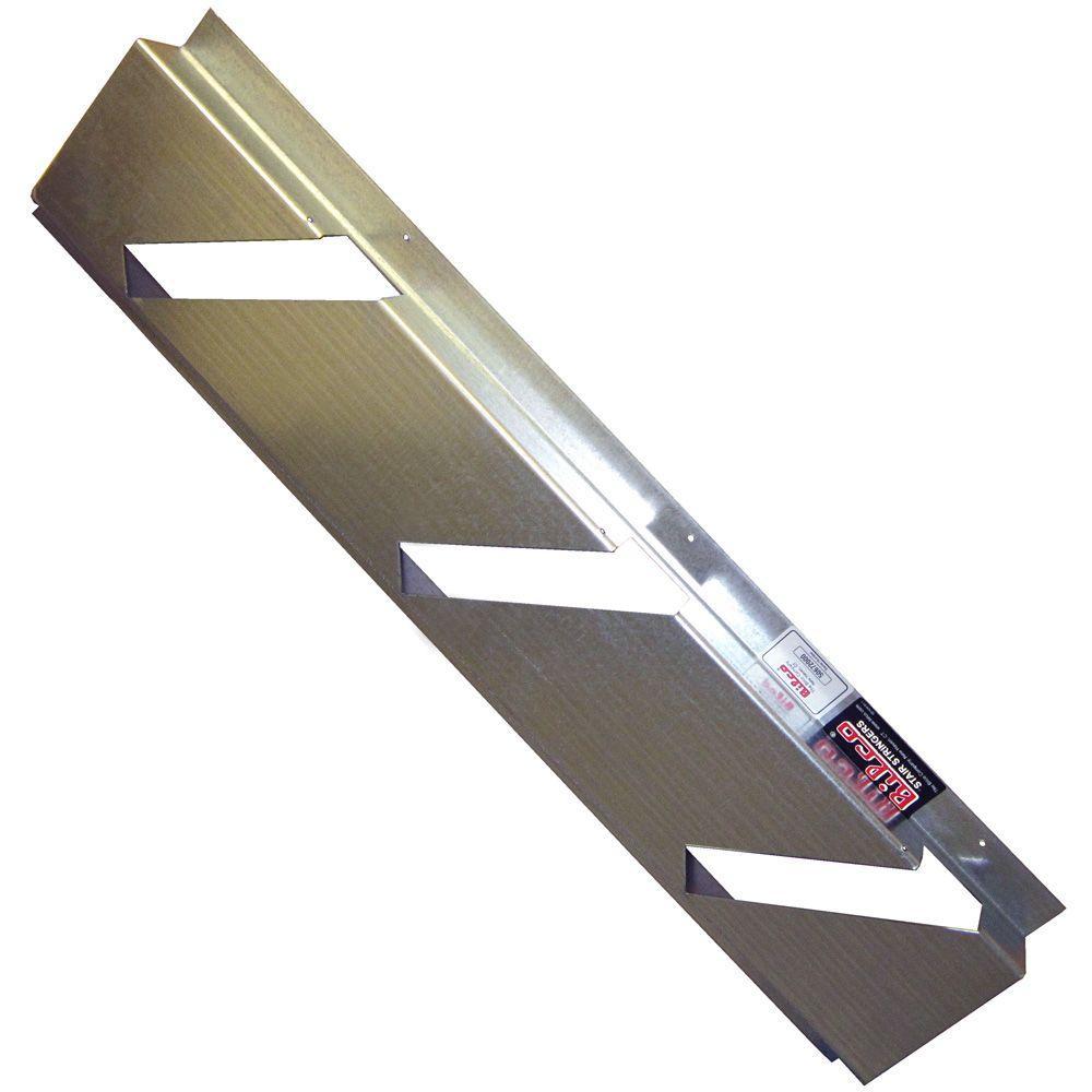 Size E Stair Galvanized Steel Stringer Kit