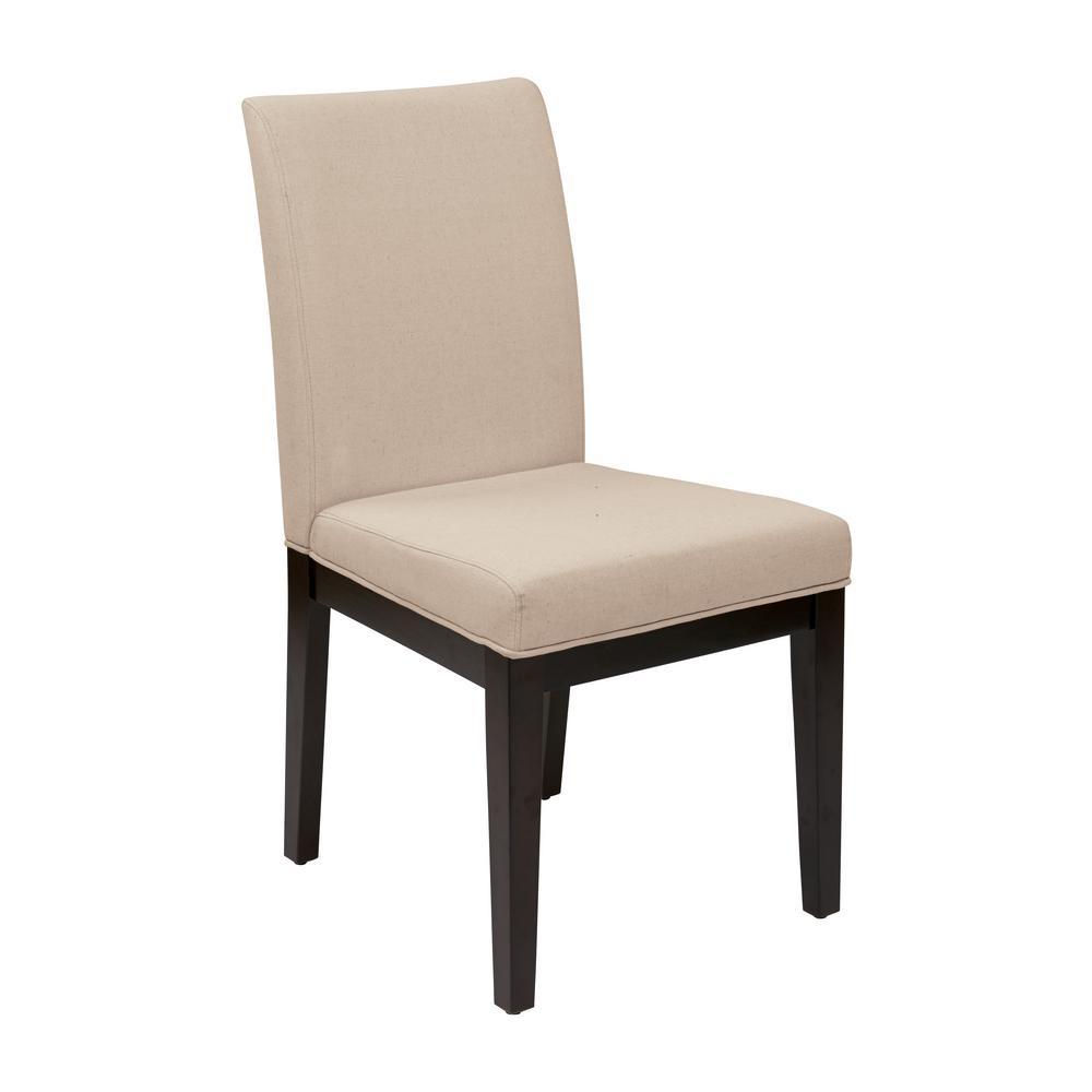 Linen Fabric Dakota Parsons Chair