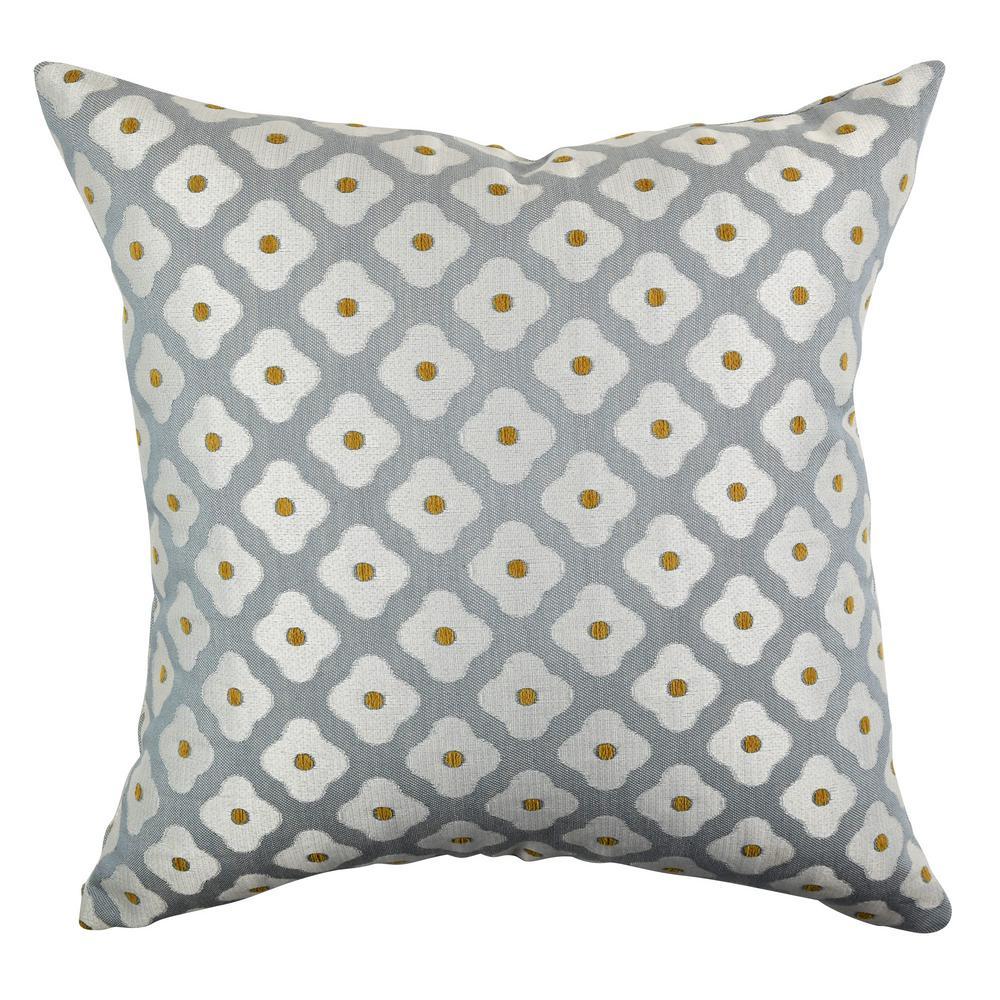 Vesper Lane Modern Fl Throw Pillow