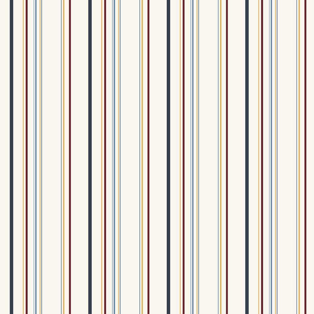 Inspired By Color Multi Color Stripe Wallpaper