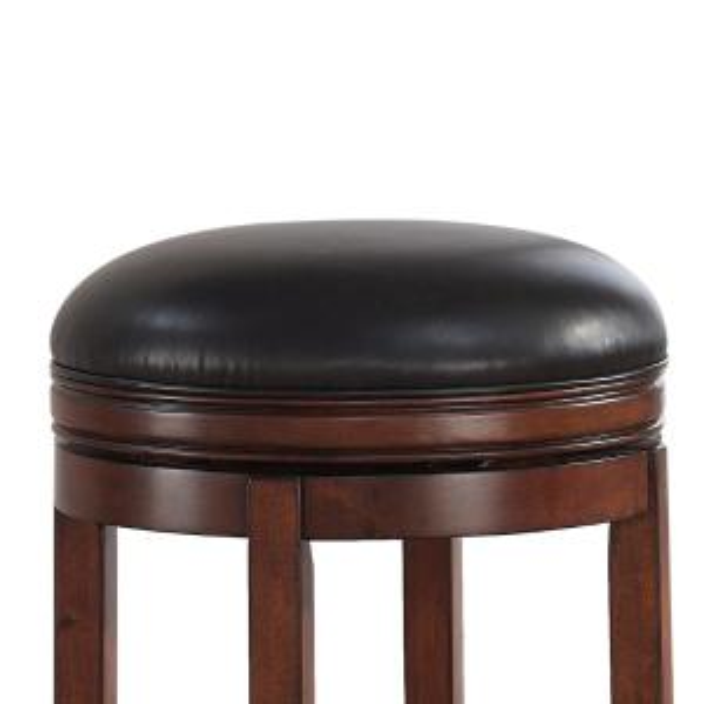 Enjoyable American Woodcrafters Stella 26 In Medium Walnut Backless Inzonedesignstudio Interior Chair Design Inzonedesignstudiocom