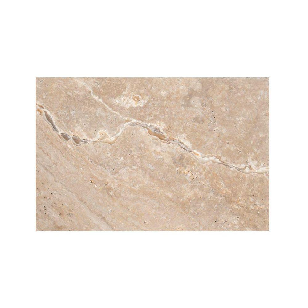 Emser Trav Chiseled Scabos 16 in. x 24 in. Travertine Floor and Wall Tile