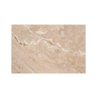 Trav Chiseled Scabos 16 in. x 24 in. Travertine Floor and Wall Tile