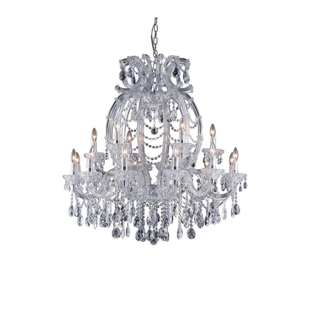 xavier 18light gold chandelier