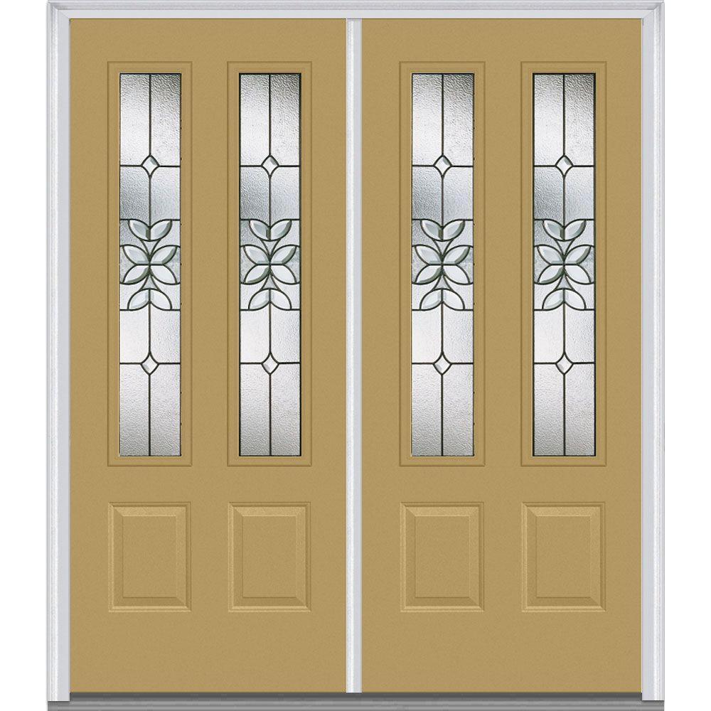 Double Doors Exterior Home Depot: MMI Door 72 In. X 80 In. Cadence Right-Hand Inswing 2-Lite