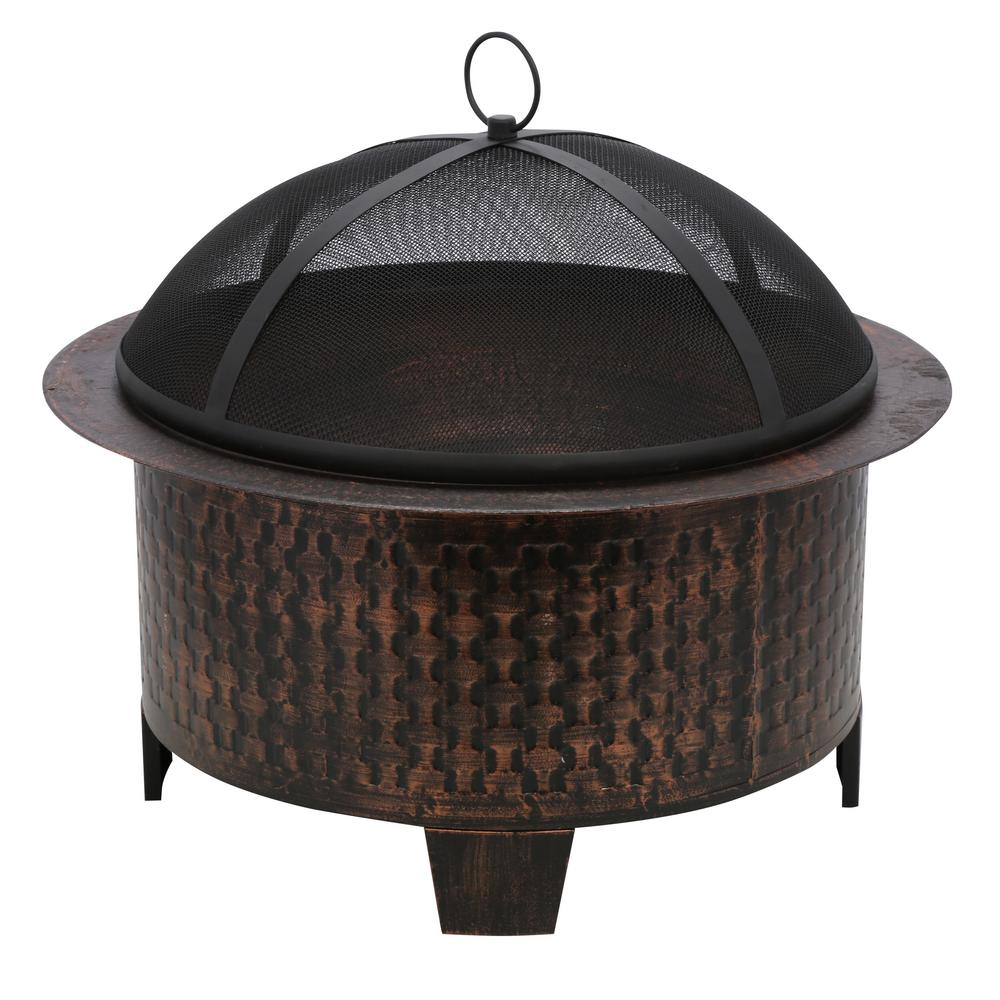cobraco woven base cast iron pit fbciwoven bz the home depot
