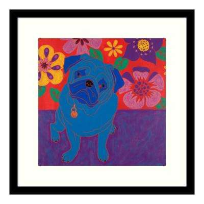 """Perspicacious Pug"" by Angela Bond Framed Wall Art"