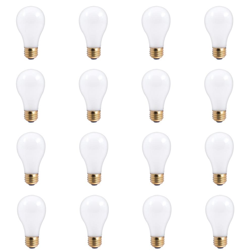 30/70/100-Watt A19 Frost Dimmable Light Incandescent 3-Way Light Bulb Warm White